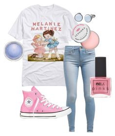 """eh"" by adventuretimekitty ❤ liked on Polyvore featuring Levi's, Sephora Collection, Converse, MAC Cosmetics, Skagen, ncLA, Random and melaniemartinez"
