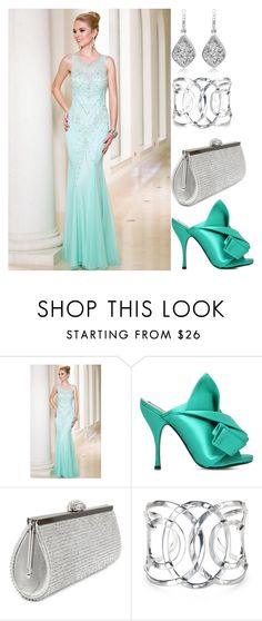 """Gown of the day, Newyorkdress.com"" by freida-adams ❤ liked on Polyvore featuring Sean Collection and N°21"
