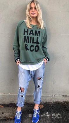 Hammill + Co Exclusive Logo Sweat | The Rock Box Store