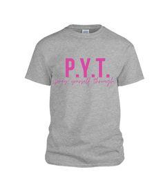P.Y.T. UNISEX TSHIRT - xlarge / gray