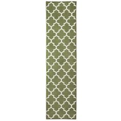 Threshold� Fretwork Rug