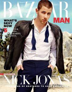 Nick Jonas para Harper's Bazaar Singapur Abril 2016 por Yu Tsai