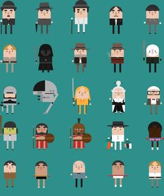Cute Illustrated Cinematic Video & Gif