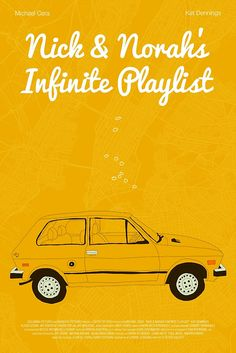 """""""Nick & Norah's Infinite Playlist"""" Posters by Martin Lucas 