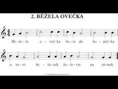 Běžela Ovečka - zobcová flétna - YouTube Youtube, Youtubers, Youtube Movies