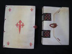 Encuadernaciones con pergamino. Taller de restauración. Mota del Cuervo (Cuenca)