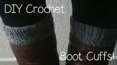 A really cute way to dress up your boots without wearing bulky wool socks or leg warmers.