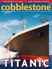 From first class to third class accommodations, the Titanic was more comfortable and luxurious than an exclusive hotel. Cobblestone Magazine for Grades 52 pages. 6th Grade Reading, Teaching 5th Grade, Teaching Social Studies, Reading Resources, Reading Activities, Teaching Reading, Teaching Ideas, Learning, Magazines For Kids