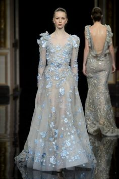 Ziad nakad haute couture spring summer 2017 i 2019 Style Couture, Couture Fashion, Runway Fashion, Fashion Show, Spring Fashion, Women's Fashion, Fashion Design, Fashion Trends, Hijab Evening Dress