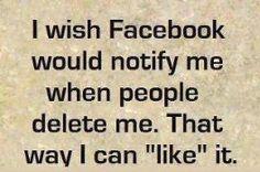 32 Best unfriending posts images   Funny quotes, Facebook ...