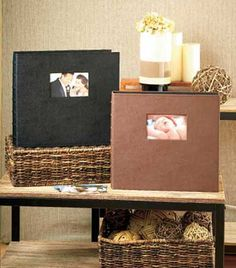 """Store and display up to 504 of your best 4"""" x 6"""" photos in this jumbo album. Each page holds 6 pictures on each side. The 3-ring binder style album makes it easy to add or remove pages. There's also space on the cover for a 4"""" x 6"""" photo. Acid-free paper"""