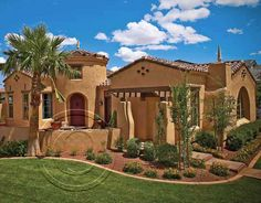 2014 Homes Promotional Calendars_February2014 - adobe house with palm trees