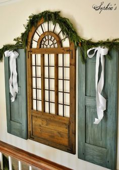 Sophia's: Christmas Stairs and Entryway