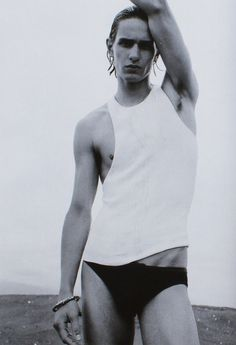 David Smith by Tom Munro for Arena Homme Plus #20, circa 2003