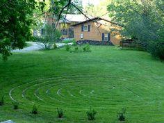 Walking Labyrinth at the Inn on Mill Creek http://www.innonmillcreek.com