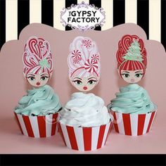 Too cute toppers!