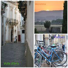 #come2Italy,ecco la mia selezione dei 3 luoghi da visitare in Italia alle soglie dell'Expo 2015: Maremma, Valle d'Itria e Padova.