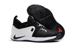 ddcaaad86459 2018 Nike PG 2 White and Black For Sale Nike Kd Shoes