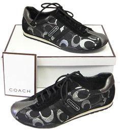 coach tennis shoes - so cute....