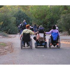 Viagens em grupo de pessoas com deficiência.