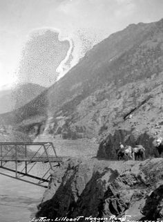 Lillooet Wagon Bridge - 1901