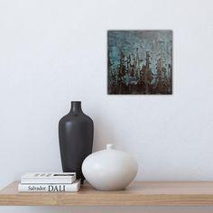 """Elisabeth Larem, Bodø Norway (@elisabeth_larem_galleri) har lagt til et bilde i Instagram-kontoen sin: """"Et bitte lite maleri💕, 20x20 cm. Til salgs. #akryl #kunst #maleriertilsalgs #maleritilsalgs…"""" Salvador Dali, Vase, Painting, Home Decor, Pictures, Decoration Home, Room Decor, Painting Art, Paintings"""