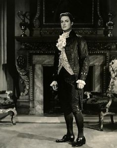 """The Young Mr Pitt"" (1942), Robert Donat as Pitt."