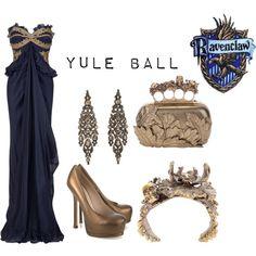 Yule Ball by chevvvvv on Polyvore