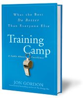 Jon Gordon - Training Camp -- The 11 winning habits that separate the best from the rest. It's much more than a sport's story. It's a story about life that will inspire you to be your best and bring out the best in others. Jon Gordon, Energy Bus, Book Suggestions, Keynote Speakers, Leadership Quotes, Great Books, Bestselling Author, Book Worms, Books To Read
