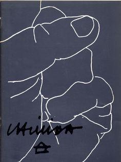 Wim Crouwel – Eduardo Chillida, catalogue, Stedelijk Museum Amsterdam, 1969
