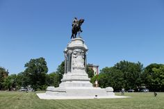 Monument Avenue in Richmond.