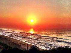 Dawn at Durban, South Africa