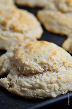 Buttermilk Drop Biscuits #recipe Just tried this recipe tonight to go w/ soup we were having, and it was so quick and easy.  We loved it!