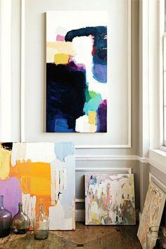 High Gloss Blue: Atlanta Artist Michelle Armas And Anthropologie Painting Inspiration, Art Inspo, Design Inspiration, Interior Inspiration, Art Diy, Design Art, Interior Design, Graphic Design, Art Projects