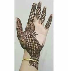 Most Stylish Mehendi designs