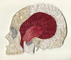 Sarah Yakawonis's Society 6 shop is where you'll find customizable quilled designs. Another cool idea.... she offers unique anatomical quilling.