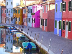 Burano (Venetian Island), well known for its lace.