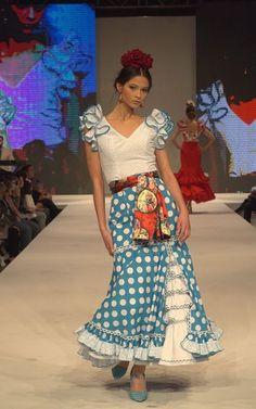 Nacho Nieto World Of Fashion, Fashion Show, Flamenco Costume, Anniversary Dress, Spanish Fashion, Dream Dress, Baby Dress, Looks Great, Organic Cotton