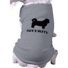 Shih Tzu Security Dog Doggie Tee Shirt