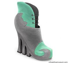 """interesting"" cat shoes"