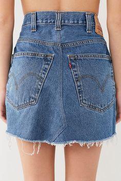 eb1d4bfdd 7 Best Jean Mini Skirts images in 2016 | Denim mini skirt, Denim ...