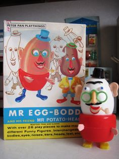 Mr. Potato Head's British friend!