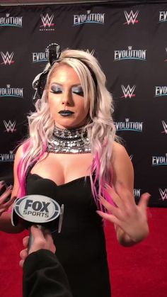 The gorgeous bouncy breasts of wwe raw little miss bliss in a tight cleavage revealing black sexy dress. Wrestling Divas, Women's Wrestling, Gorgeous Ladies Of Wrestling, Alexis Bliss, Wwe Raw And Smackdown, Lexi Kaufman, Wwe Sasha Banks, Wwe Girls, Wwe Ladies