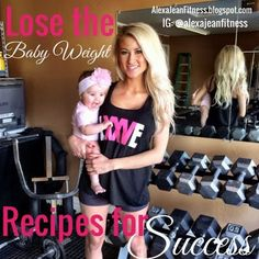 Fitness & Health: Fit Mommy - Lose the Baby Weight Recipe for Success beginner CrossFit workout, CrossFit, CrossFit workout exercises, CrossFit workouts, healthy recipes, Post Baby Workout, post baby fitness,