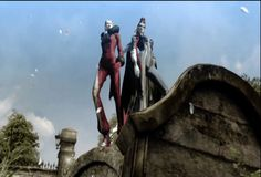 GIF, BAYONETTA, Umbran Sisters by Playstation-addict