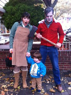 The Shining. Best family costume ever... this just beat out the Labyrinth family costume I pinned earlier