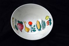 Vintage Villeroy and Boch Vegetable Serving Bowl. Primabella from Villeroy & Boch made in Luxembourg, about 50s 60s