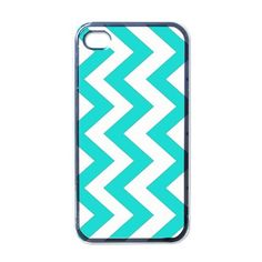COOL BLUE CHEVRON iphone 4 4s case cover