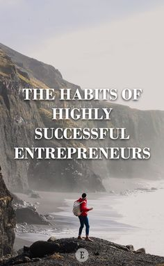 To be successful, we need to cultivate successful habits.