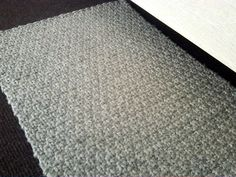 Bartleby - Silver knit area rug